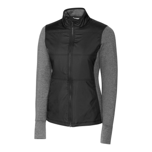 Cutter & Buck Ladies' DryTec™ Stealth Full-Zip Jacket