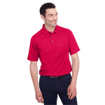 Devon & Jones Men's CrownLux Performance™ Plaited Polo with Pocket